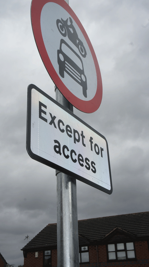 Signstr8 Sign Post