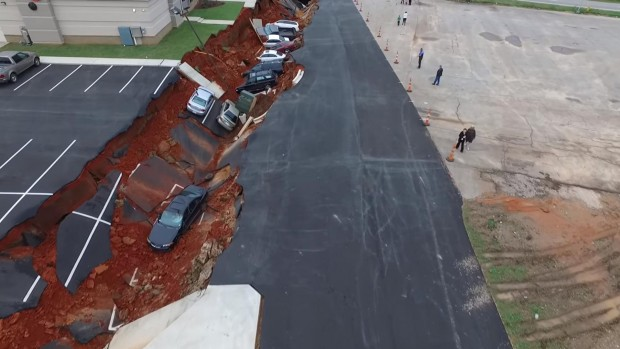 Mississippi Culvert Collapse