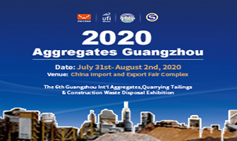 Aggregates Guangzhou 31 July to 2 August 2020