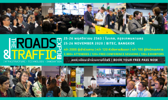 The Roads & Traffic Expo Thailand 25-26 Nov 2020