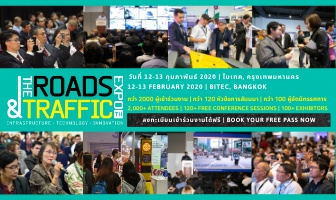 The Roads & Traffic Expo Thailand 2020 - 12/13 February BITEC, Bangkok