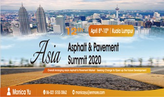 12th Asian Asphalt & Pavement Summit 2020 8-10 Apr 2020