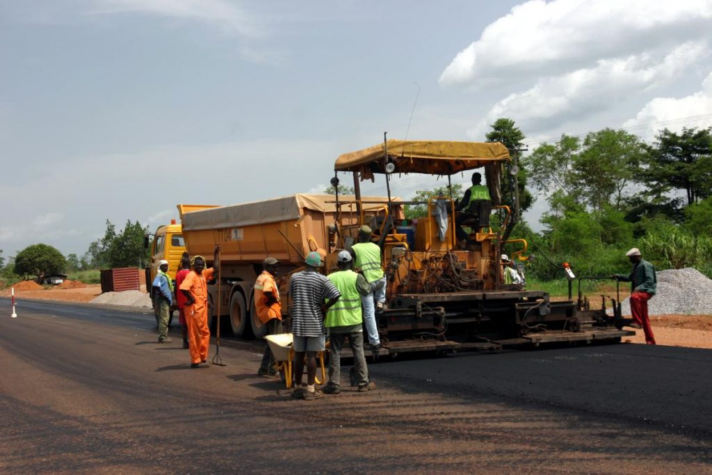 Paving rural roads