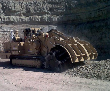 Tesmec 1150 Rock Hawg Concrete Pavement Breaking in Kiev