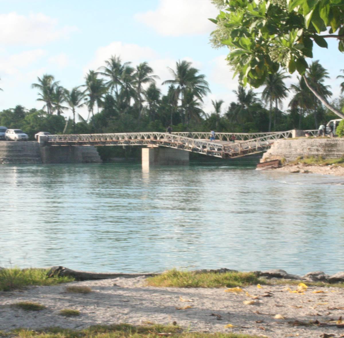 Kiribati upgrades its entire road network