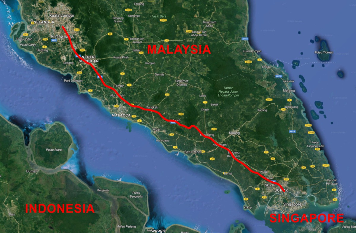 Malaysia to Singapore High-Speed railway approved for bidding