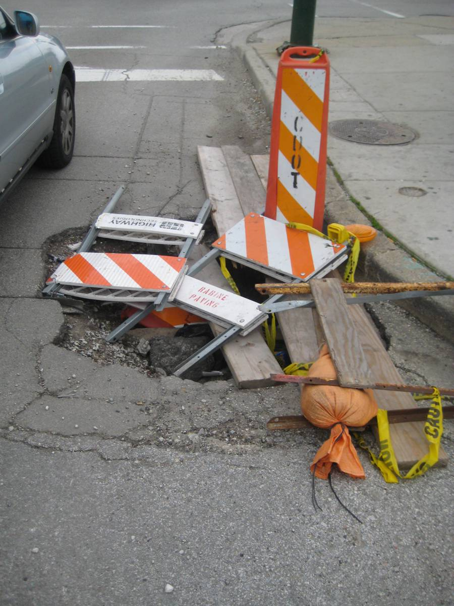 Third Annual National Pothole Day announced on 16th January 2017