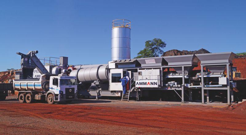 ACM 140 Asphalt Plant (www.fotopizza.com)