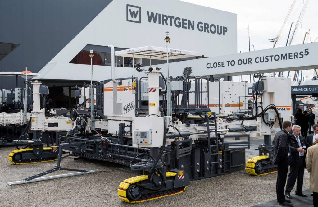 SP 60i SLipform Paver from Wirtgen Group