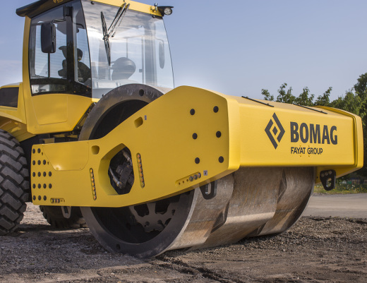 Istanbul Airport sees largest compaction project in history with 130 Bomag Rollers