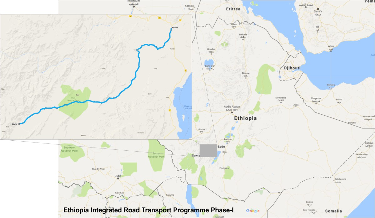 Ethiopia applies for AfDB funding for 1607km road programme