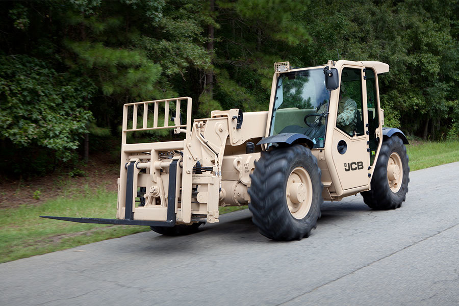 JCB Telehandler for the US Army