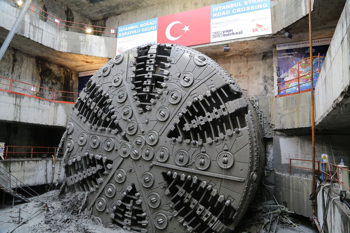 Turkeys Eurasia Tunnel a major feat of engineering brings Europe and Asia together