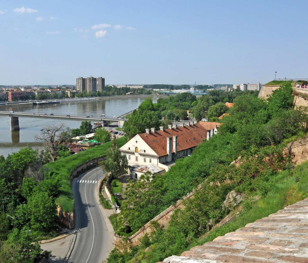 Serbia from Petrovaradin Fortress by Dennis Jarvis