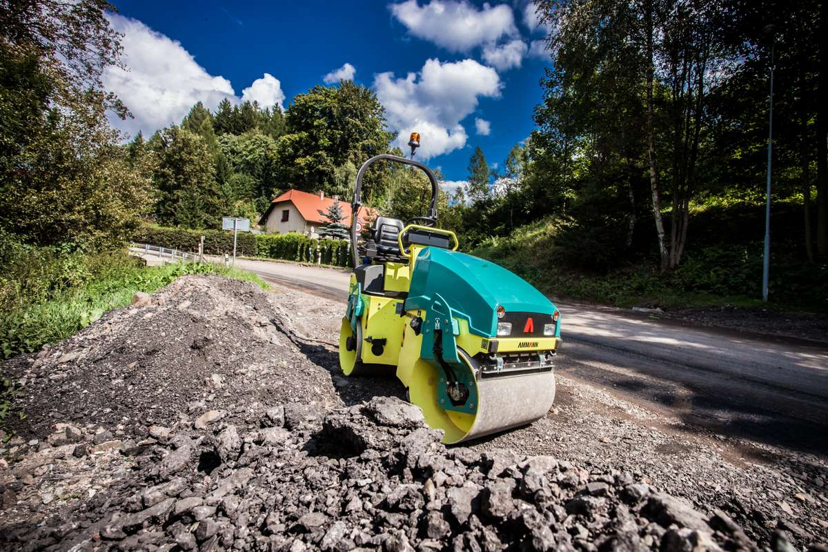 Ammann will feature its Compaction equipment at SMOPYC 2017