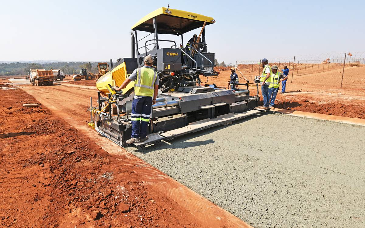 Bomag machines make an impact in South Africa
