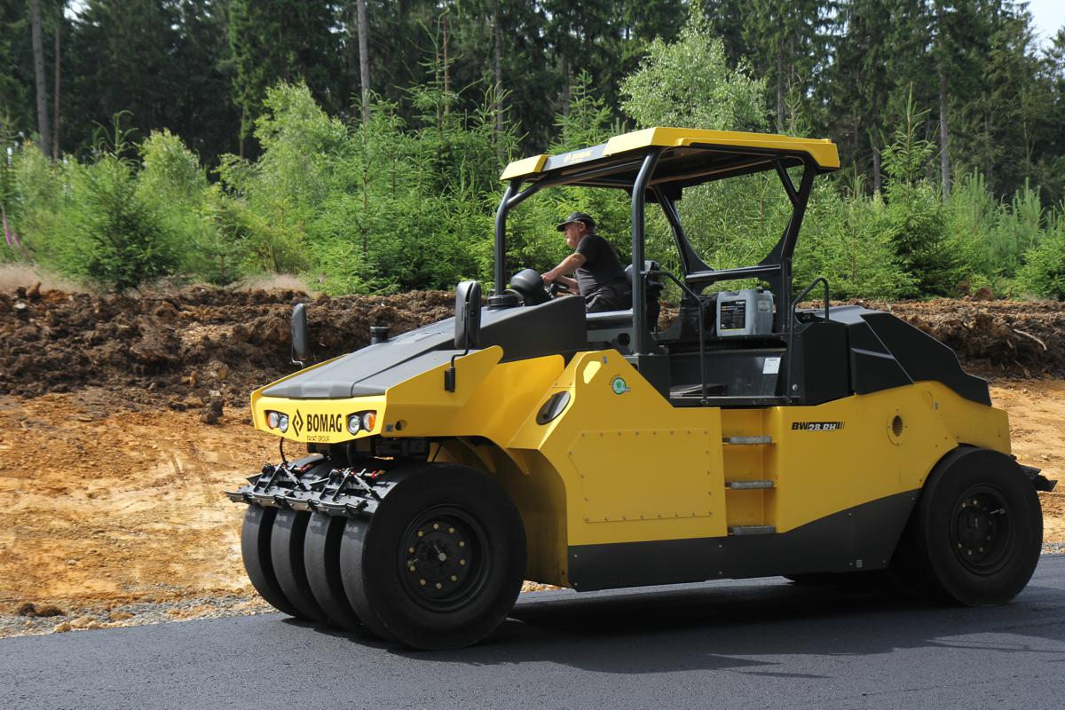 Bomag BW 28 RH pneumatic tyred roller keeps getting better