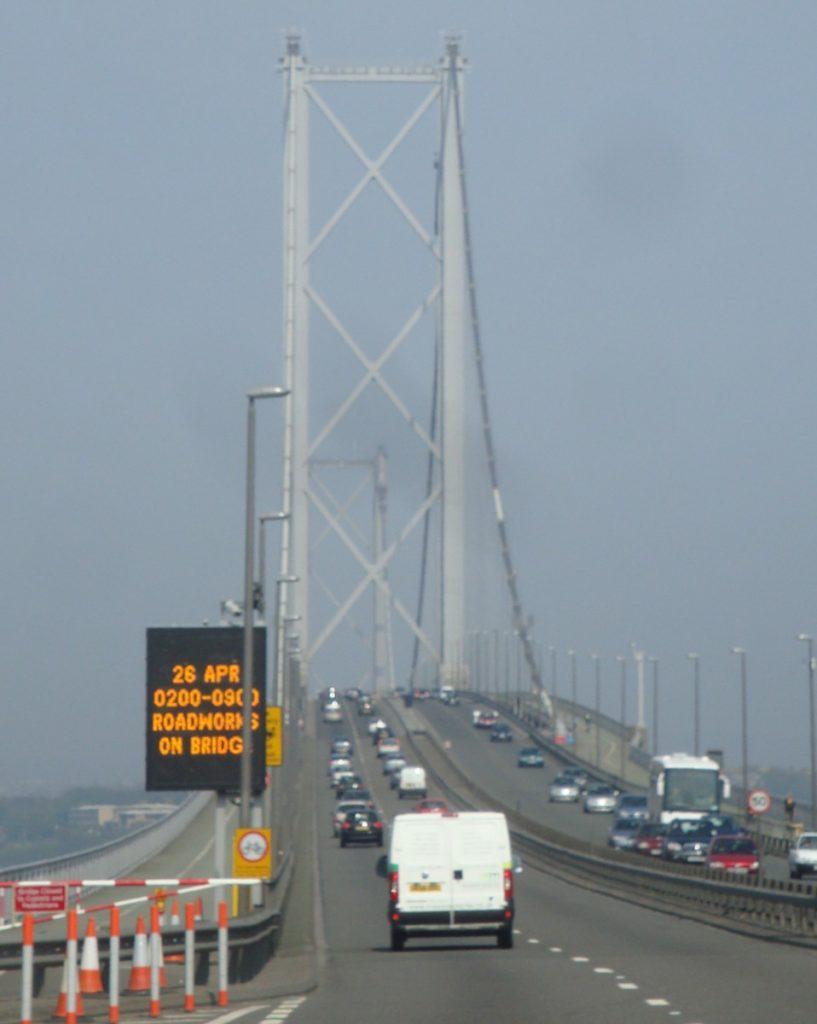 Forth Road Bridge by Nick Hubbard