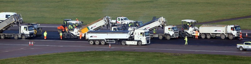 Galliford Try East Midlands Airport Paving