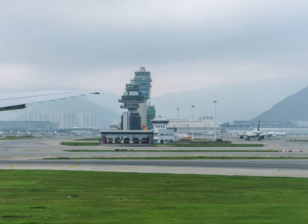 Hong Kong International Airport Control Tower