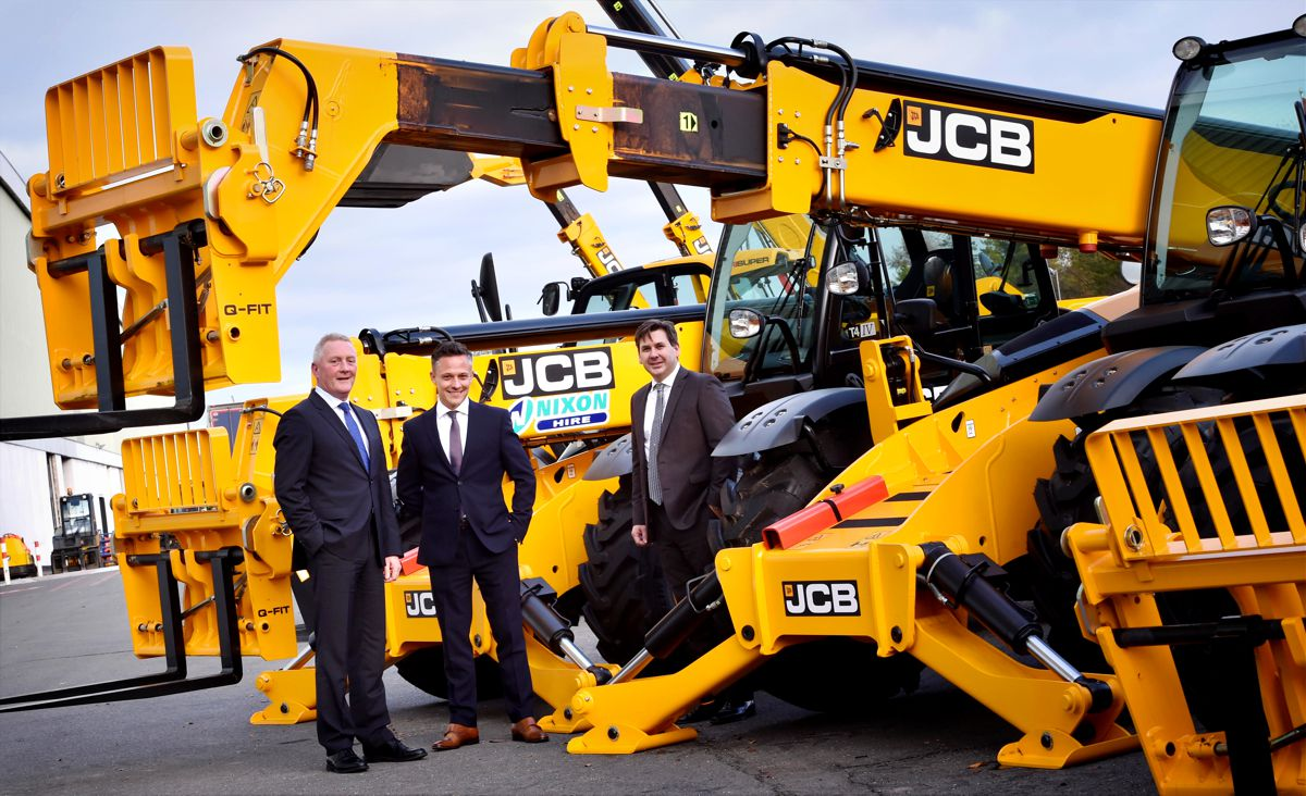Britain's leading hire company buys 160 JCB telescopic handlers