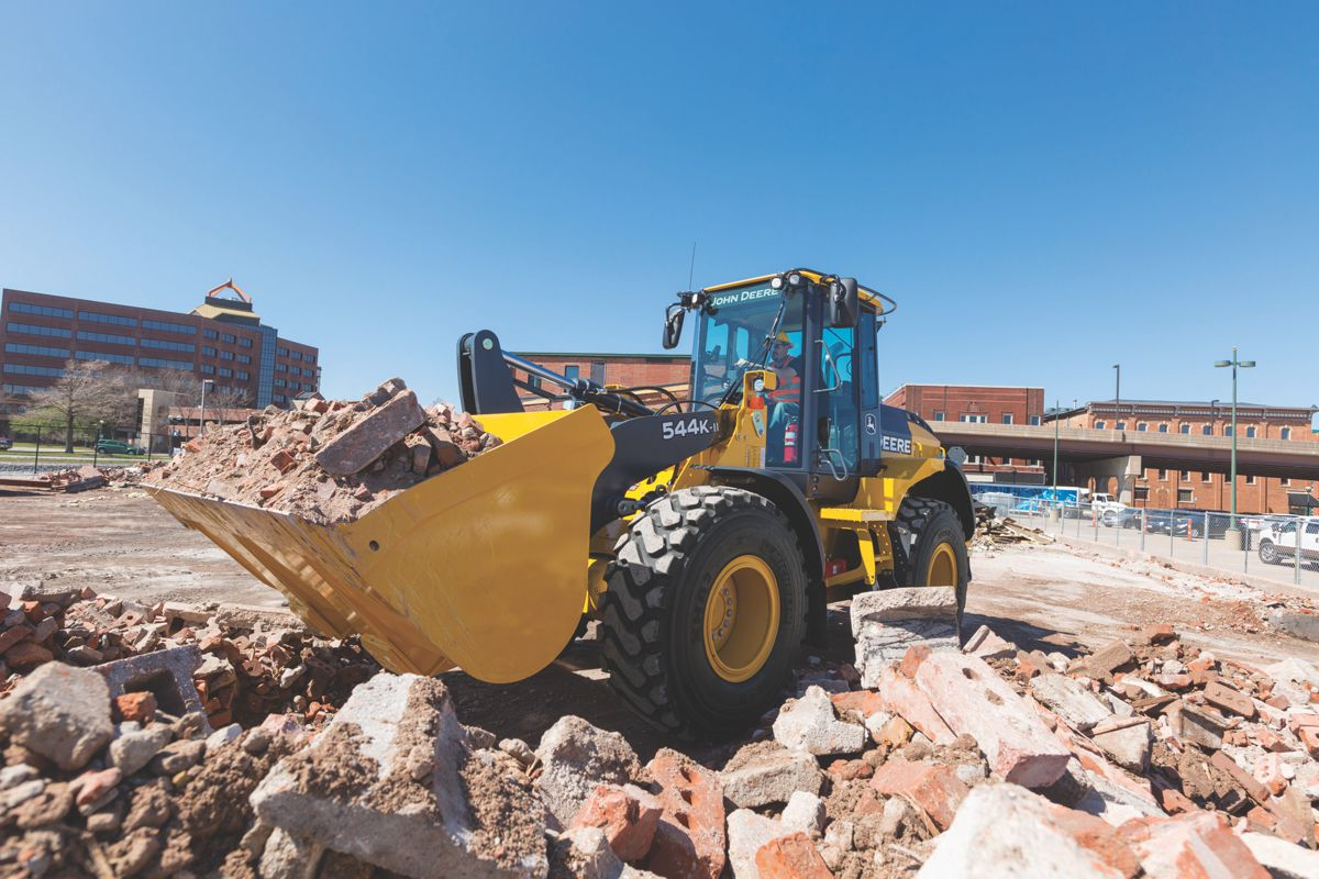 John Deere teams up with LHP Telematics to simplify data management in construction