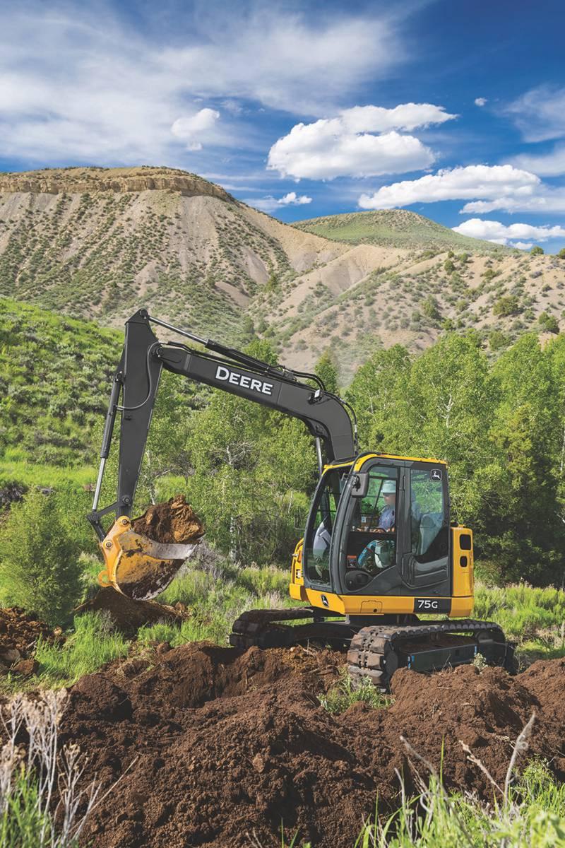 John Deere announces updates to its versatile 75G and 85G Excavators