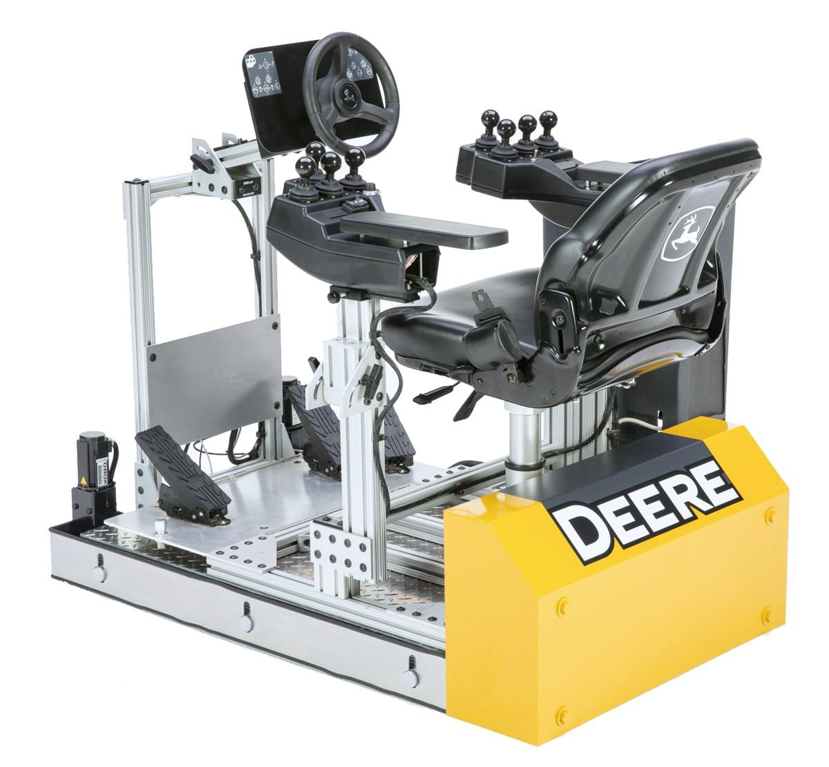 John Deere delivers revolutionary hi-tech simulator operator training