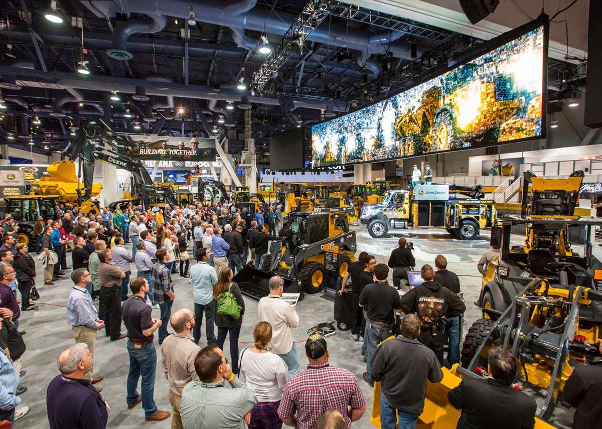 John Deere to break new ground at Las Vegas CONEXPO-CON/AGG 2017