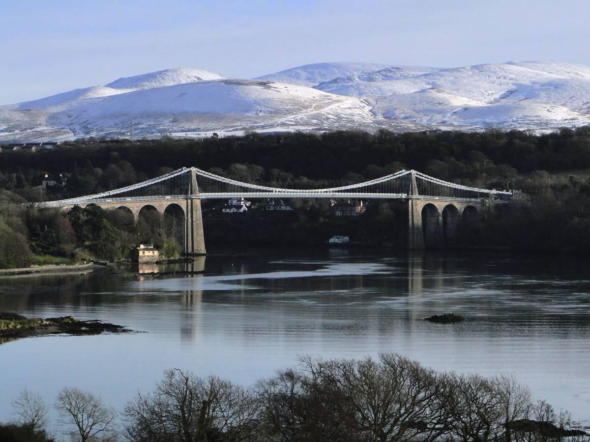Wales looks forward to a new bridge over the Menai Straits