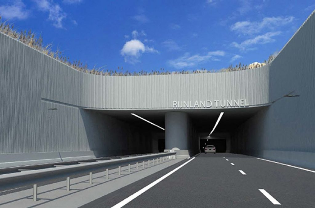 Netherlands Rijnland Tunnel