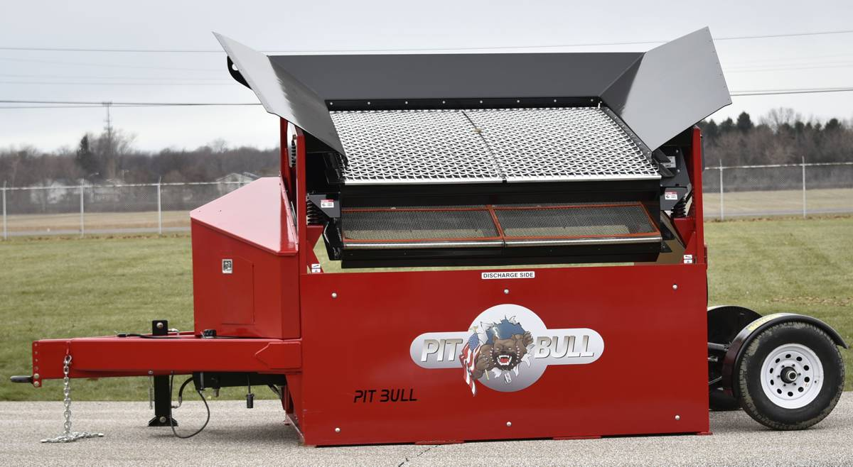 New Pitbull 2300B Screener delivers portability and durability at almost half the cost