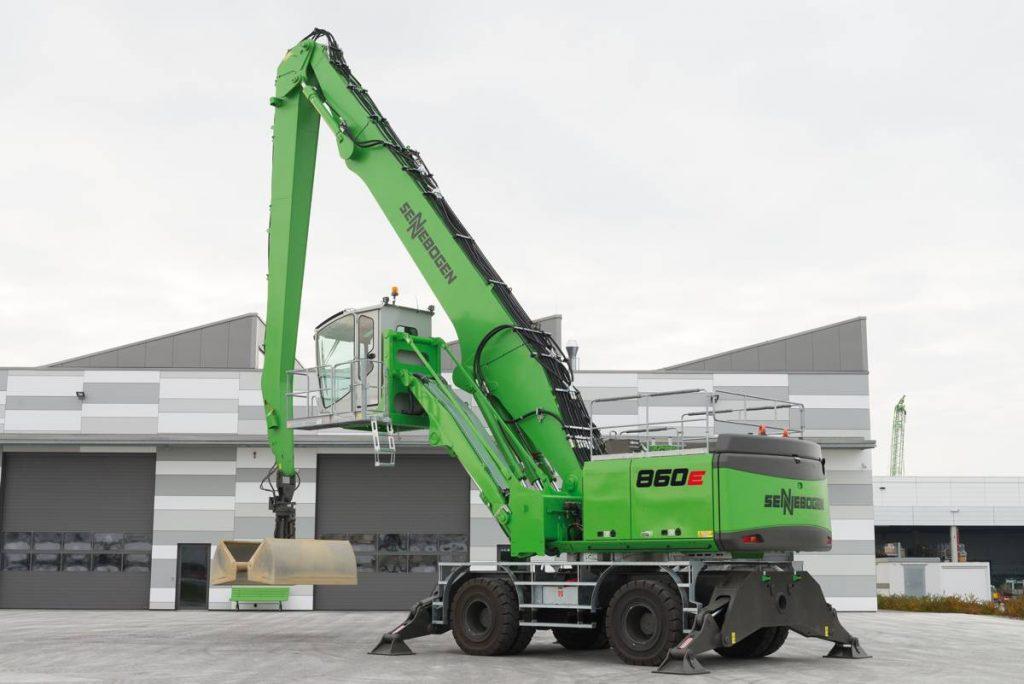 SENNEBOGEN - 860 - E-Series:- material handlers for scrap handling and ports