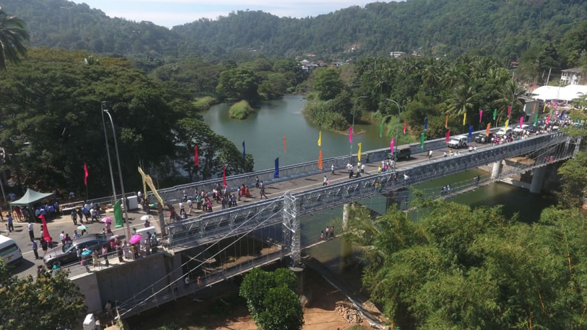 New bridge opening provides travel boost for Sri Lankan communities