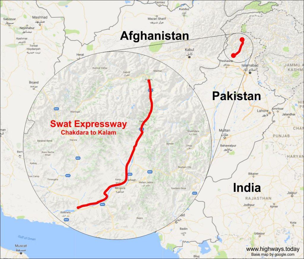 Swat Expressway Map