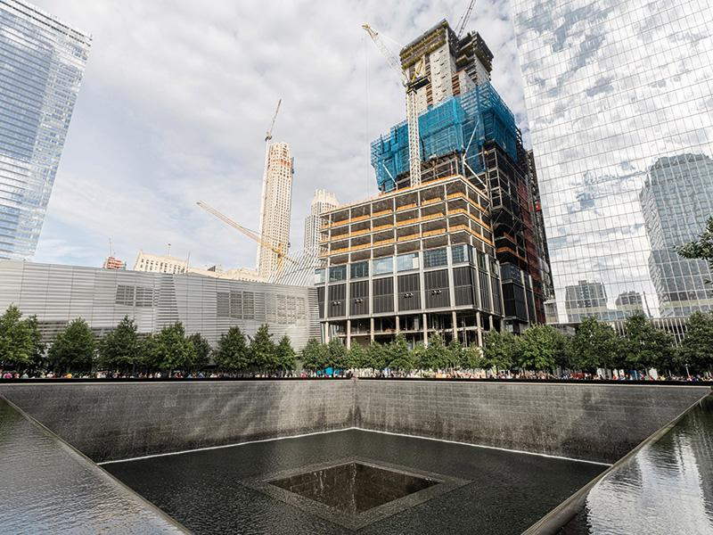 Tower 3, with 80 storeys, was built at the heart of the former Ground Zero with formwork solutions by Doka. Photo by Doka