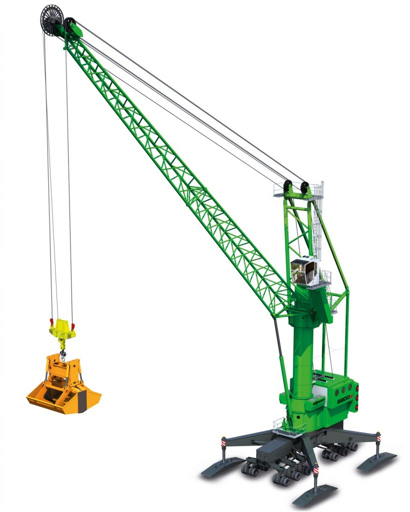 Sennebogen 9300 E port mobile crane