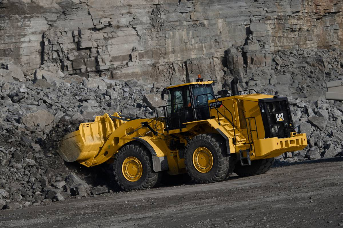 New Cat 986K Wheel Loader delivers significant lower cost