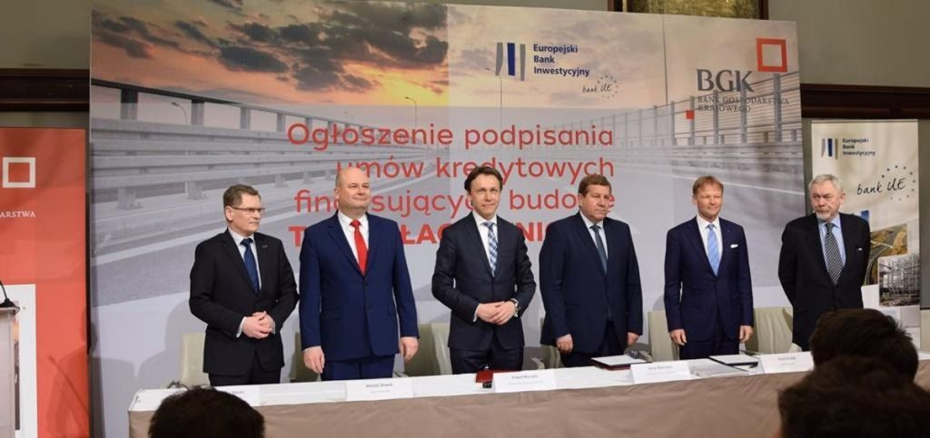 EIB and BGK sign finance contracts for the construction of Krakow Bypass