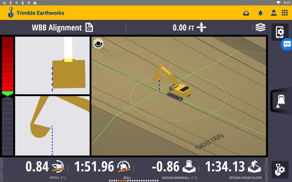 Earthworks Excavators ScreenShot