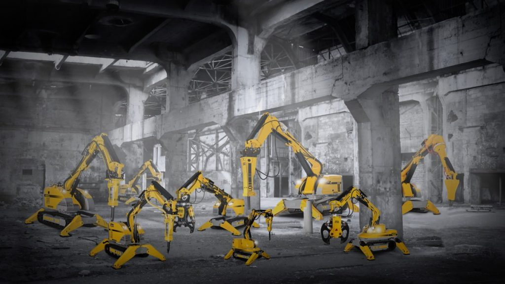 Brokk, the world's leading manufacturer of remote-controlled demolition machines, recently acquired Aquajet Systems AB, a global leader in manufacturing hydrodemolition machines.