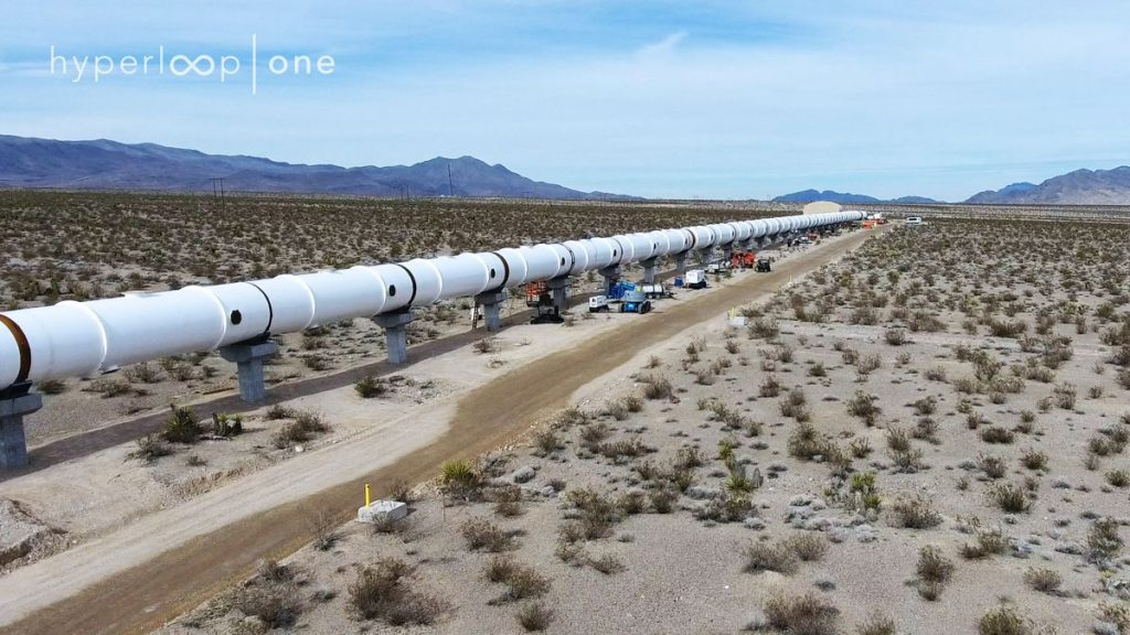 Hyperloop testtube