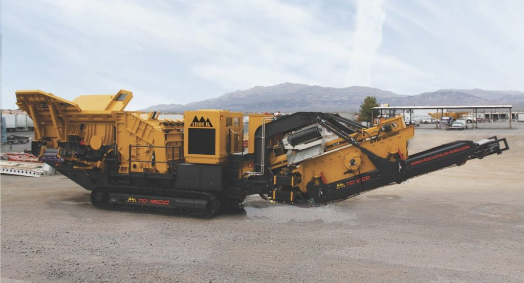 IROCK launches the TC-15CC tracked closed-circuit plant, which offers high productivity in a small footprint.