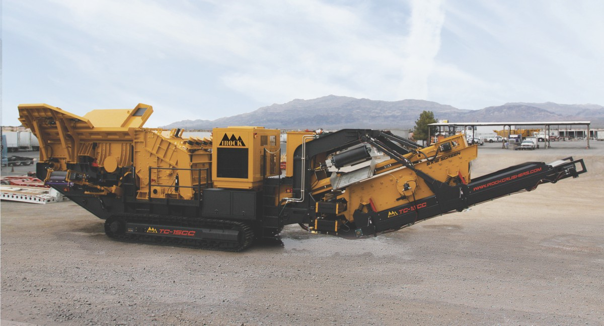 IROCK releases closed-circuit impact crusher with small footprint and high productivity
