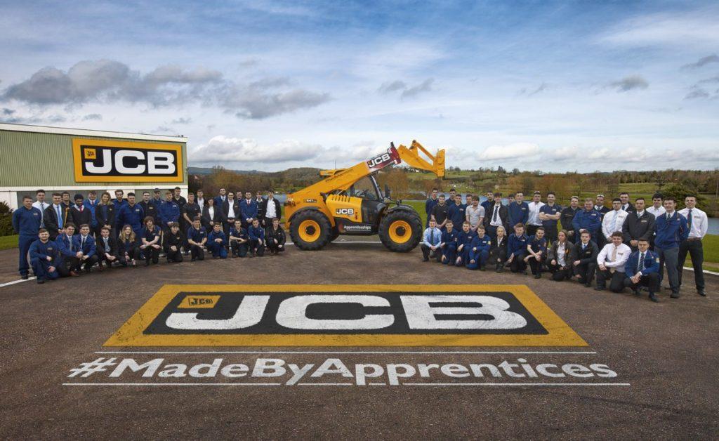 JCB Loadall Built by Apprentices
