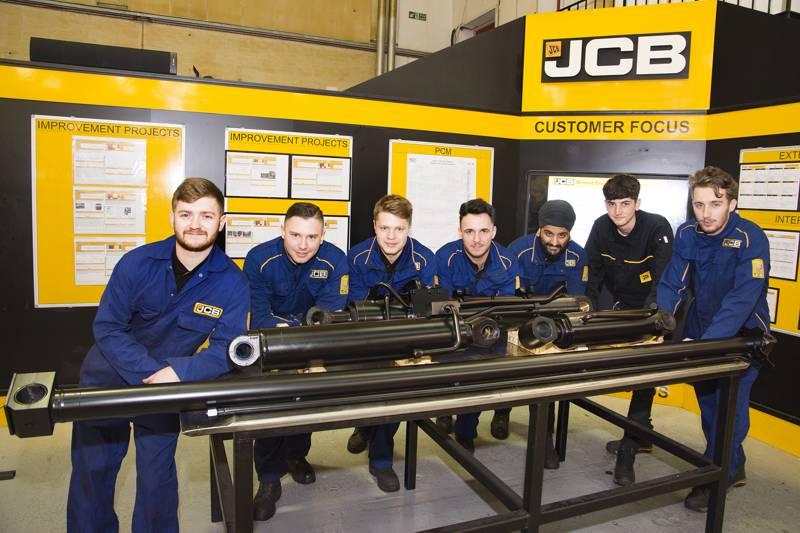 JCB Apprentices Group Photo
