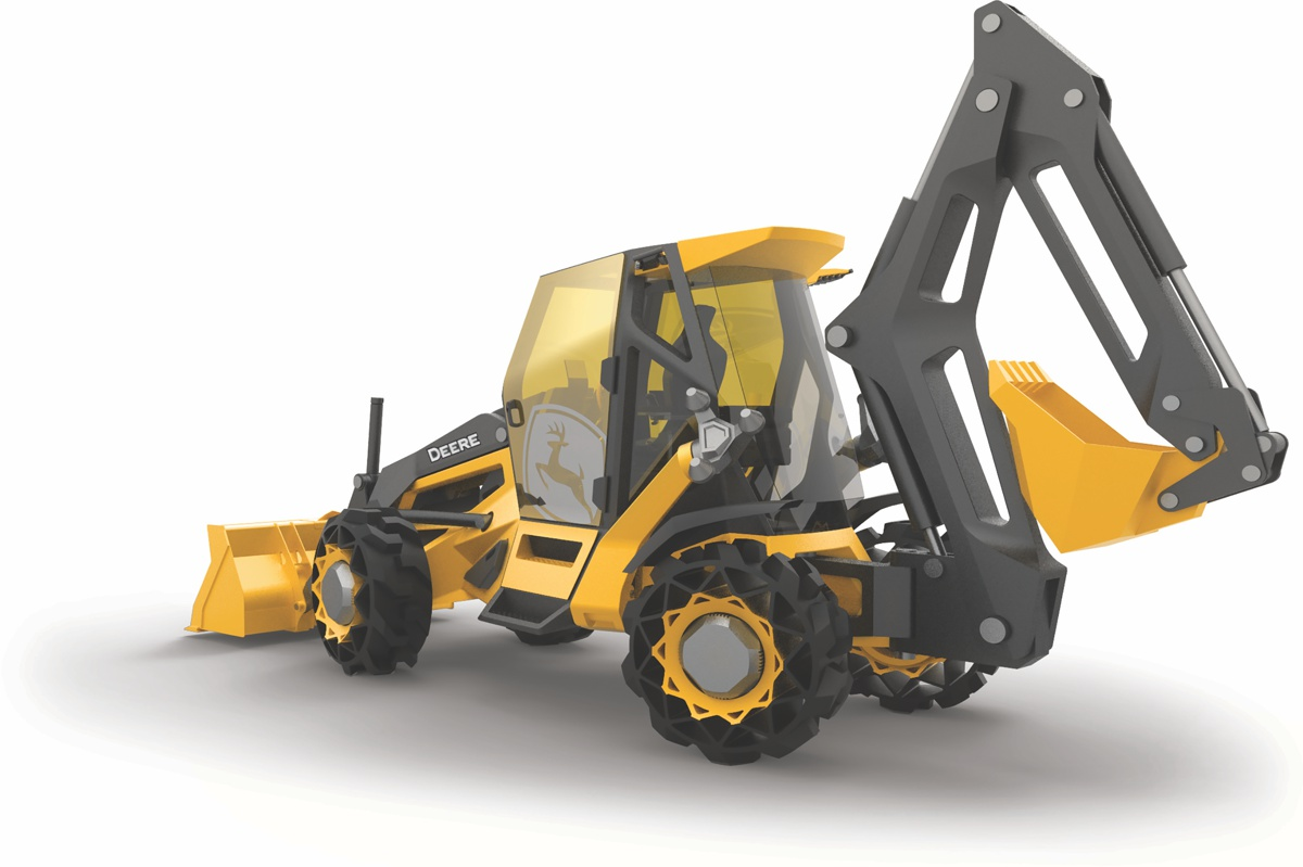 John Deere and BMW Designworks collaborate on the Backhoe of the Future