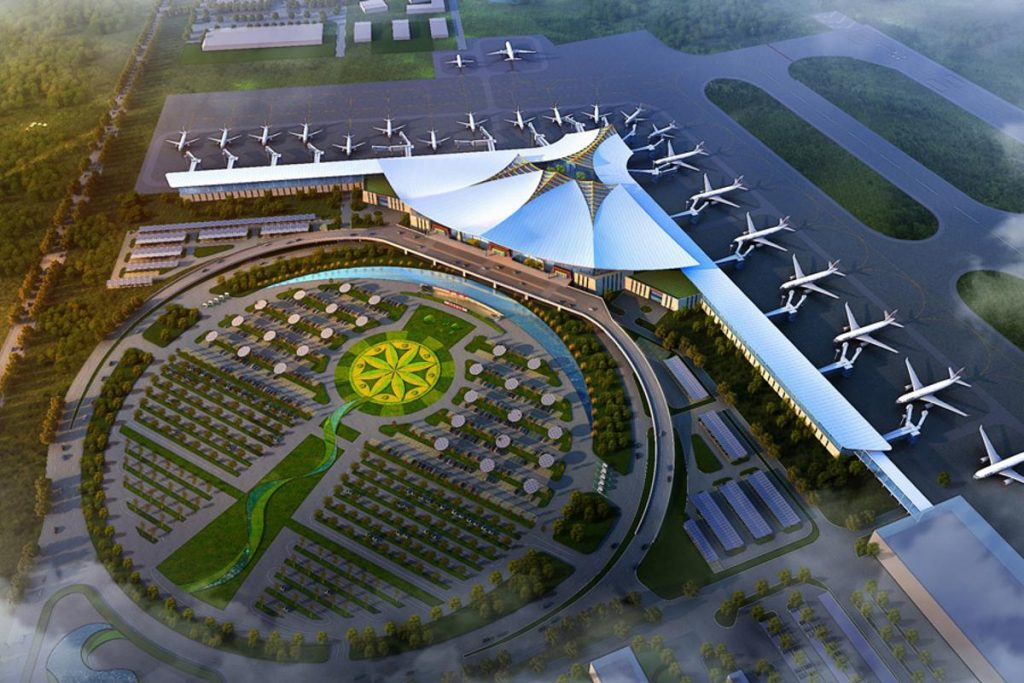Lhasa Gonggar Airport by Beijing Zhong Hang Zhu Cheng Airport Construction Consulting Co., Ltd