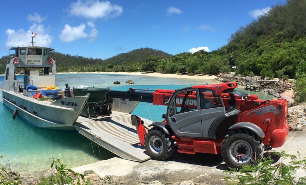Manitou Telehandler in Fiji