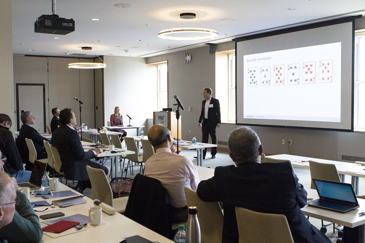 Parsons and MIT host infrastructure, smart cities, and transportation workshop